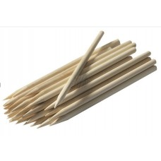 "8"" Semi-Pointed Bamboo Corn Stick Skewers 200ct"
