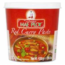 Mae Ploy Thai Red Curry Paste 12x35 ounce